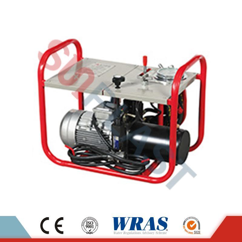280-450mm hydraulický tavný zvárací stroj na zváranie HDPE rúr