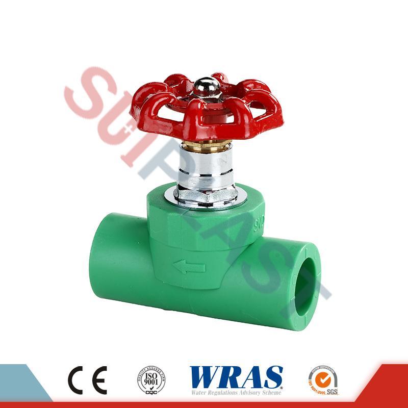 DIN8077 Uzatvárací ventil PPR